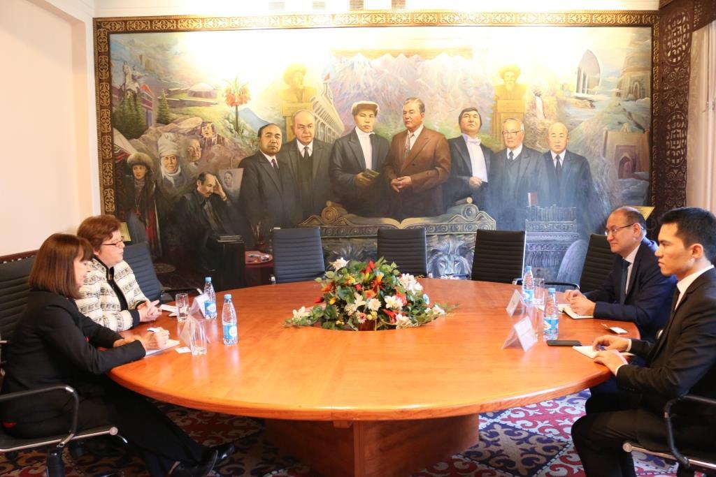 Марат Джаманкулов и Посол Германии в Кыргызстане обсудили вопросы сотрудничества