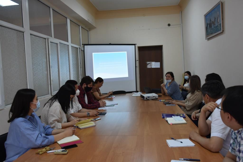 Презентованы  вопросы Технического задания ИС  Централизованного банка данных правовой информации Кыргызской Республики