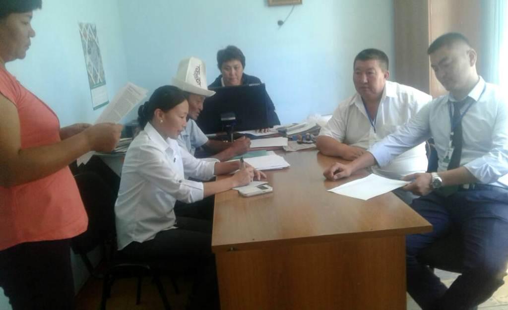 Среди работников ОАО «Айыл Банк» Нарынской области Ак-Таалинского района проведена праворазъяснительная работа