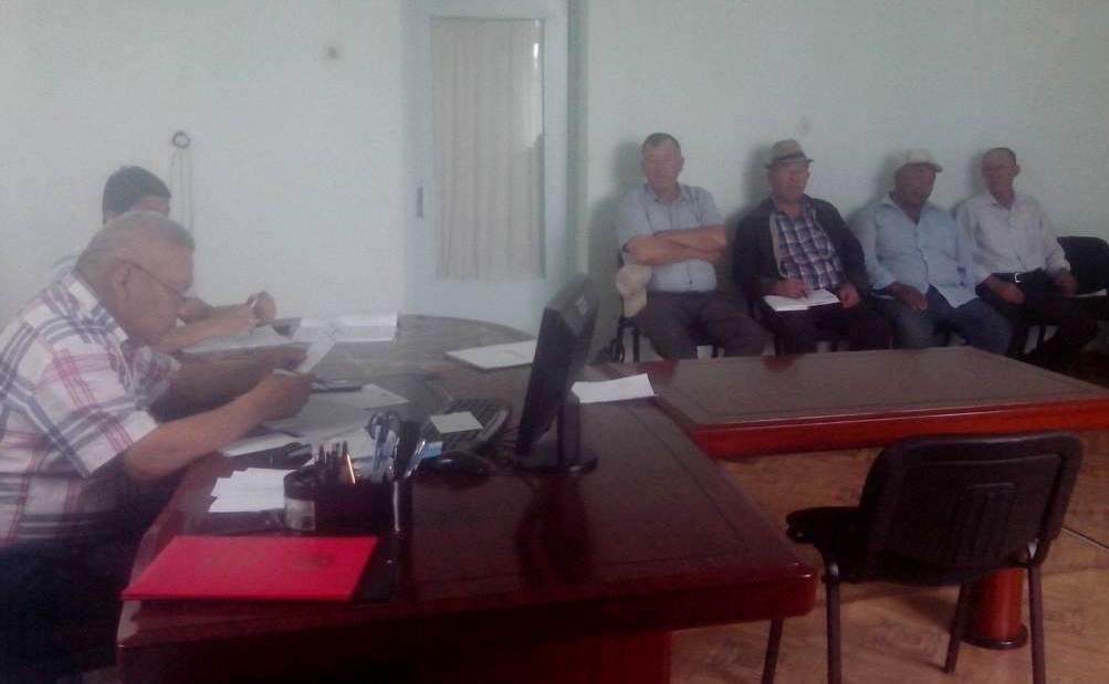 осударственный нотариус города Кок-Жангак провел встречу с работниками Ленинского айыл окмоту