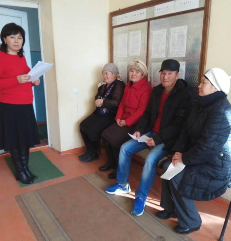 Государственный нотариус Джети-Огузского района рассказал о необходимости страхования имущества