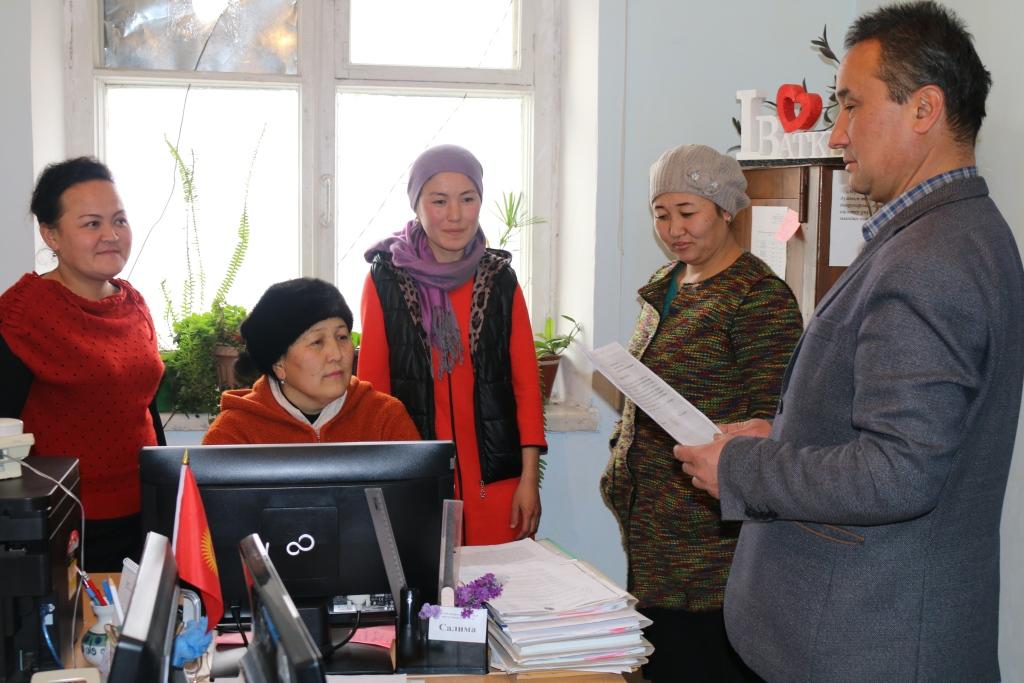 Баткен облусунун Юстиция башкармалыгы тарабынан Баткен шаарынын жана Баткен районунун социалдык өнүгүү башкармалыгынын кызматкерлери менен жолугушуу өткөрүлдү