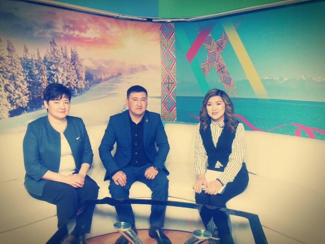 Сотрудники Управления юстиции Иссык-Кульской области выступили на  телепередаче «Юрист в гостях»