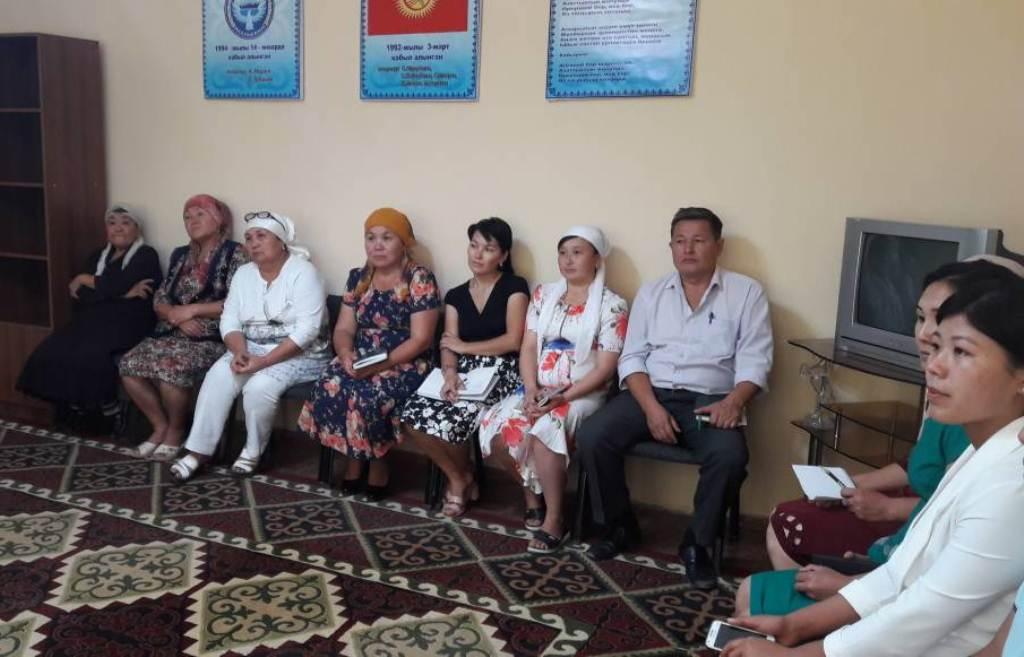 Состоялся семинар с участием представителей органов местного самоуправления города Кочкор-Ата Джалал-Абадской области