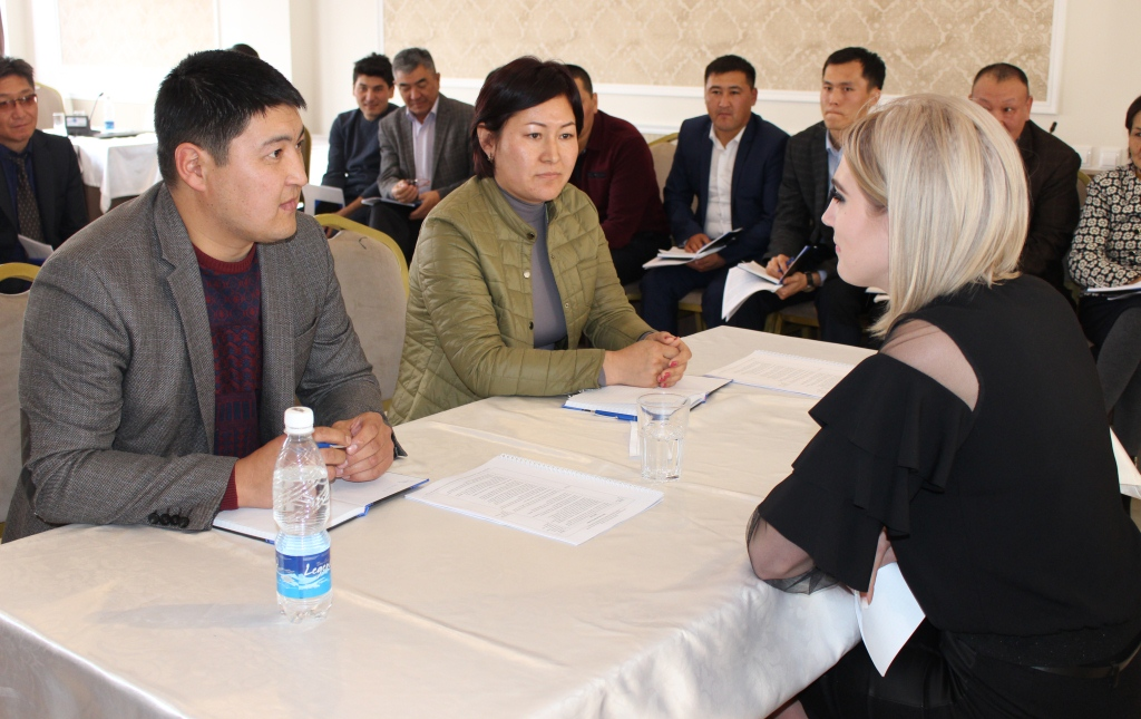53 сотрудника Центров бесплатной юридической помощи Министерства юстиции Кыргызской Республики улучшают навыки консультирования граждан по правовым вопросам