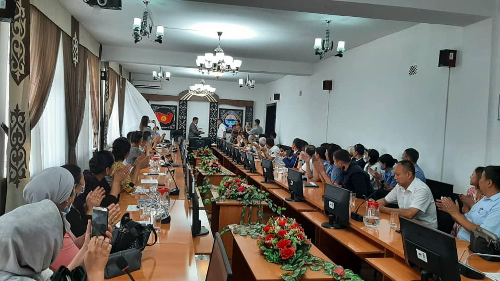 Состоялась областная презентация деятельности «Автобуса солидарности» на 2021 год по Ошской области.