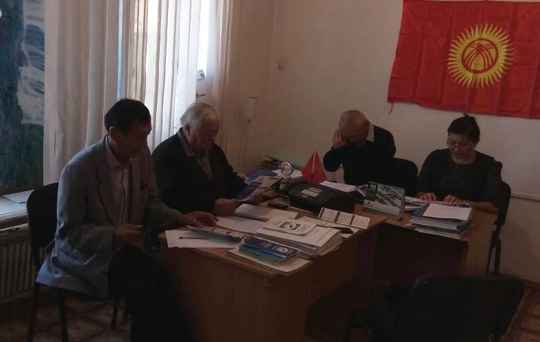 Сотрудники Управления юстиции Нарынской области проводят разъяснение новой редакции Административно-процессуального кодекса Кыргызской Республики