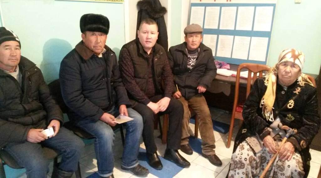 Государственный нотариус встретился с жителями города Кочкор-Ата Жалал-Абадской области