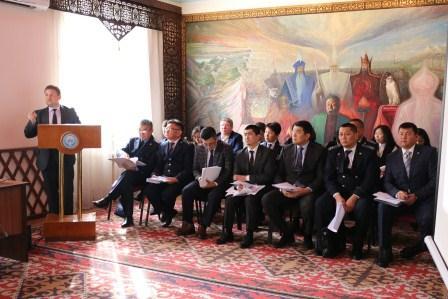 Кыргыз Республикасынын Юстиция министрлигинде 2018-жылдын 9 айы боюнча ишмердиктин жыйынтыгы чыгарылды