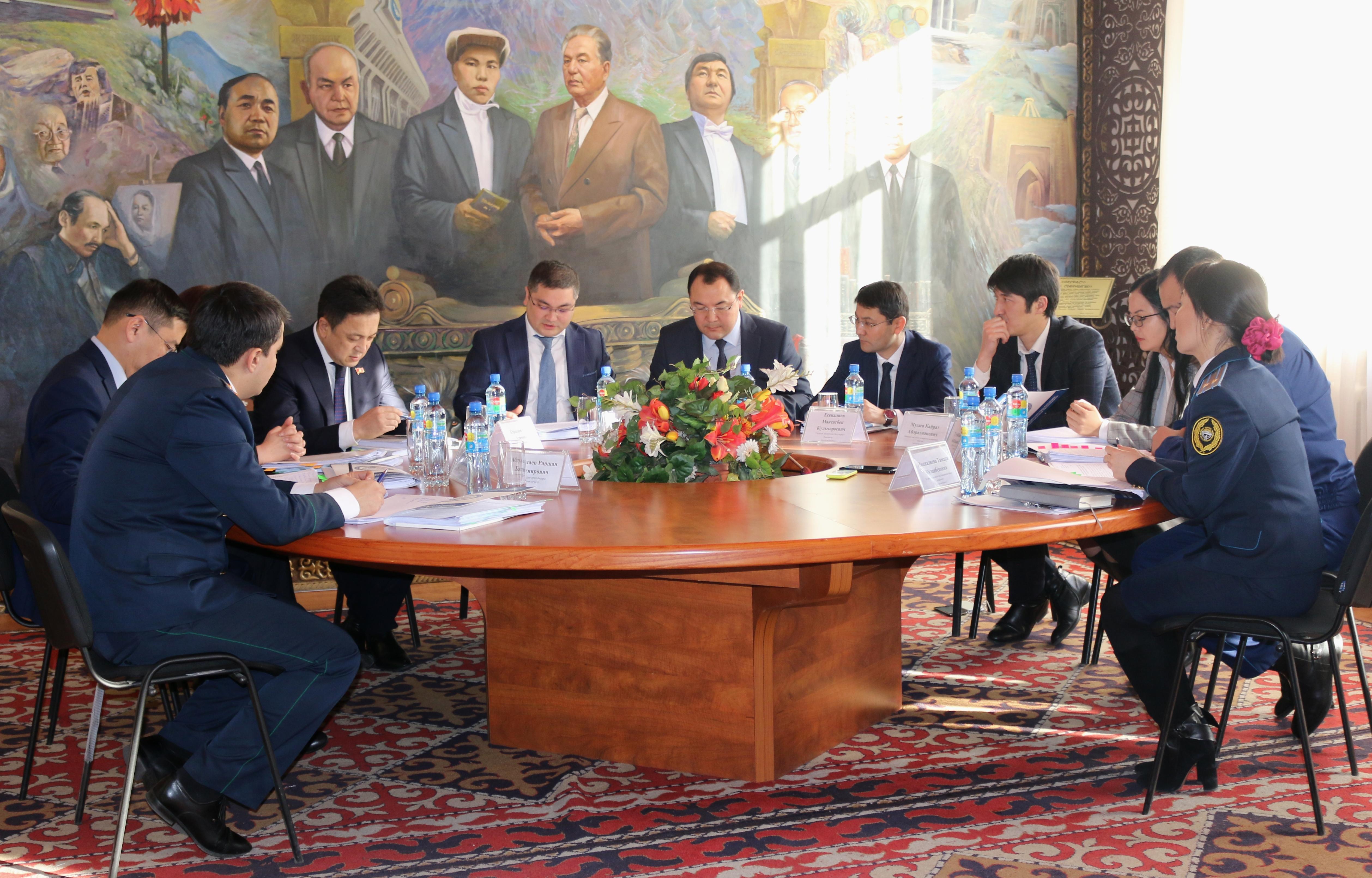 Состоялась коллегия Министерства юстиции Кыргызской Республики по итогам деятельности за 2017 год