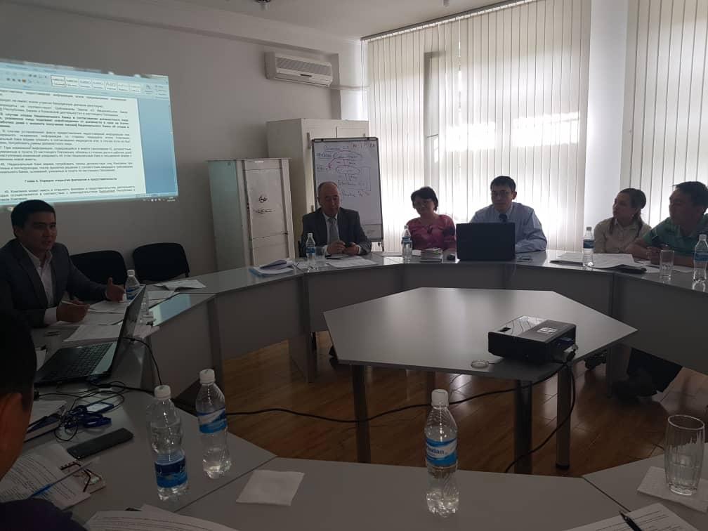 Чуй-Бишкекским управлением юстиции был проведен круглый стол с представителями Национальной ассоциации кредитных союзов и кооперативов
