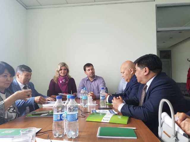 Кыргызстандын делегациясынын  Украина Республикасынын акысыз юридикалык жардам көрсөтүү мамлекеттик тутумуна болгон окутуучу визити башталды