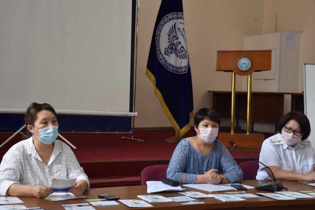 В Министерстве юстиции Кыргызской Республики проведена акция по предоставлению бесплатной консультационно-правовой помощи гражданам