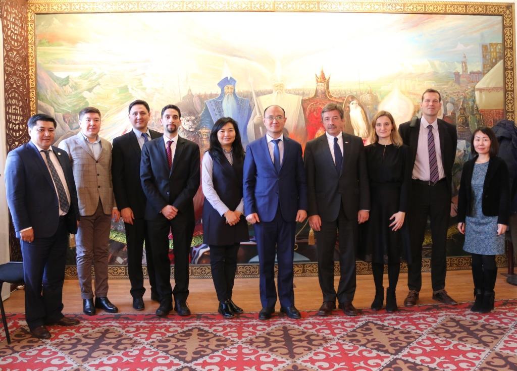 КРнын юстиция министри БУУнун Баалоо миссиясынын делегаттары менен жолугушту