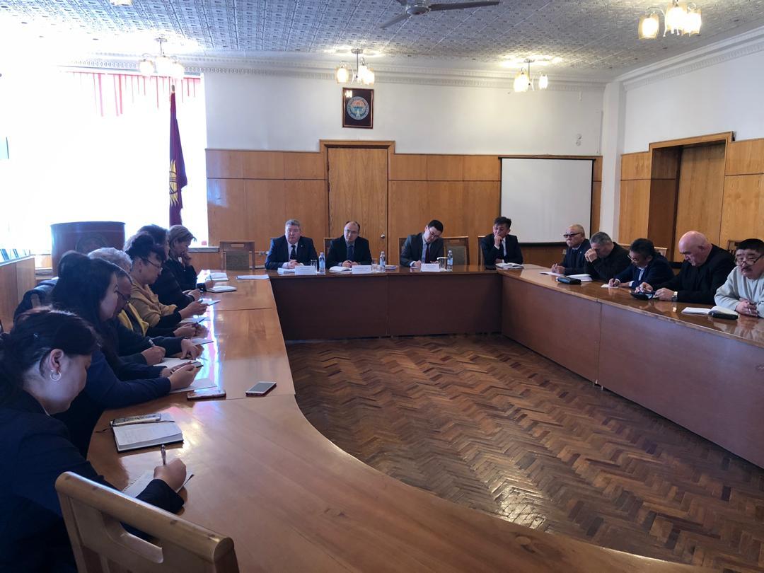 Министр юстиции Марат Джаманкулов посетил с рабочим визитом Иссык-Кульскую область