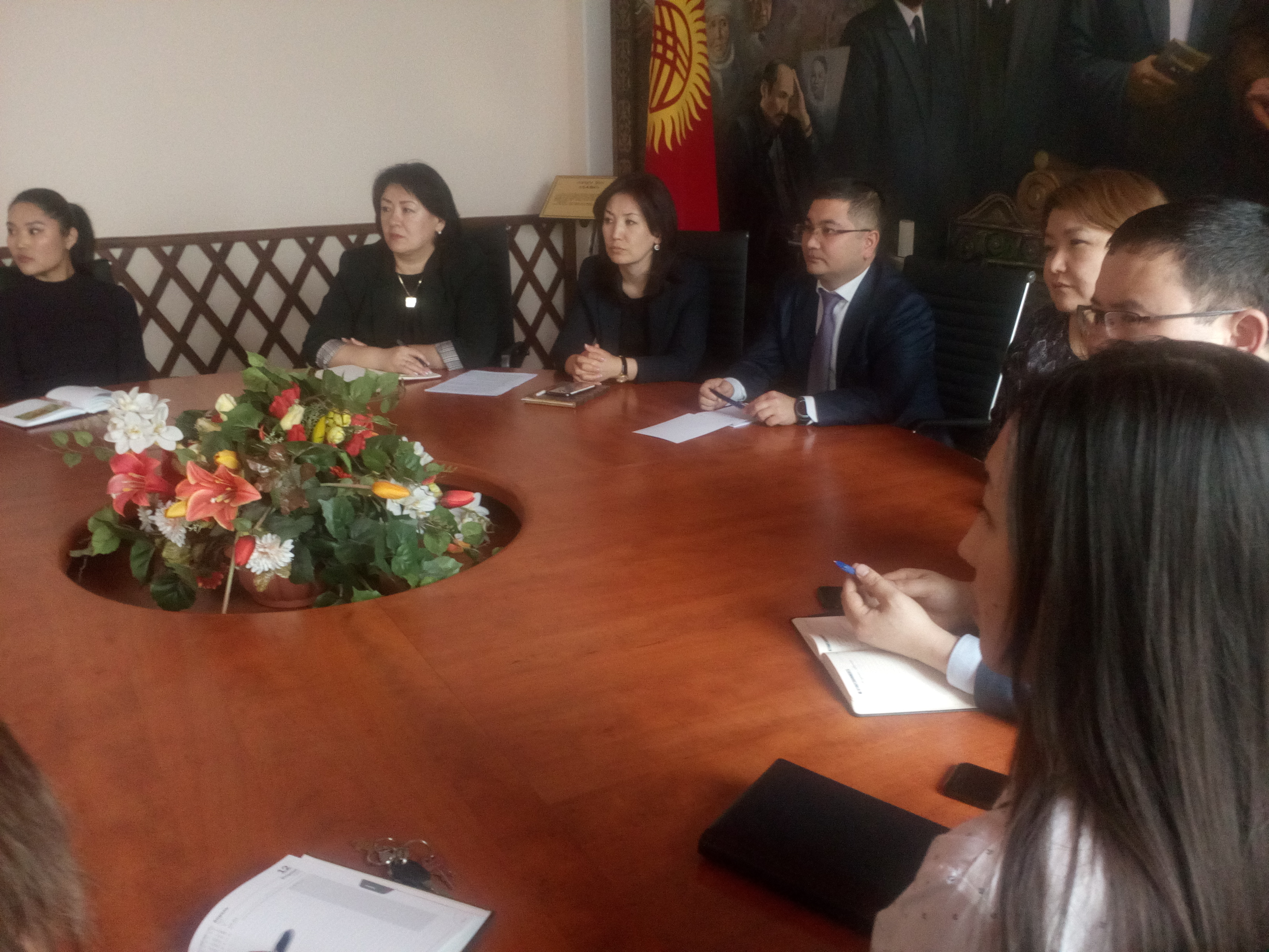 Министерство юстиции КР стало первым госорганом,  поддержавший  инициативу «Открытое Правительство»