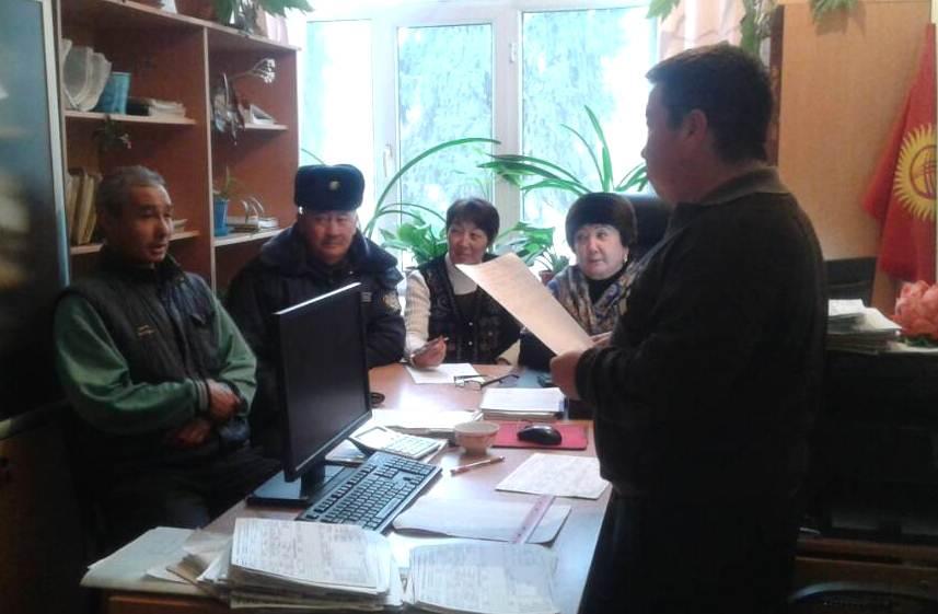Государственные нотариусы Иссык-Кульской области проводят работу по реализации Концепции по повышению правовой культуры населения Кыргызской Республики на 2016-2020 годы