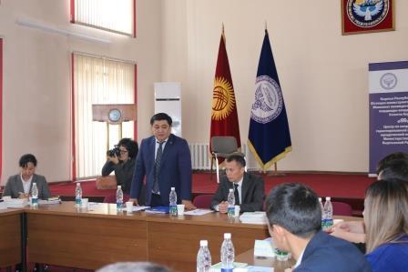 Кыргыз Республикасынын Юстиция министрлигинде үй-бүлөлүк, мураскорлук жана жер маселелери боюнча практикалык колдонмолордун, ошондой эле консультациялык-укуктук жардам көрсөтүү боюнча отчеттуулуктун электрондук системасы тартууланды