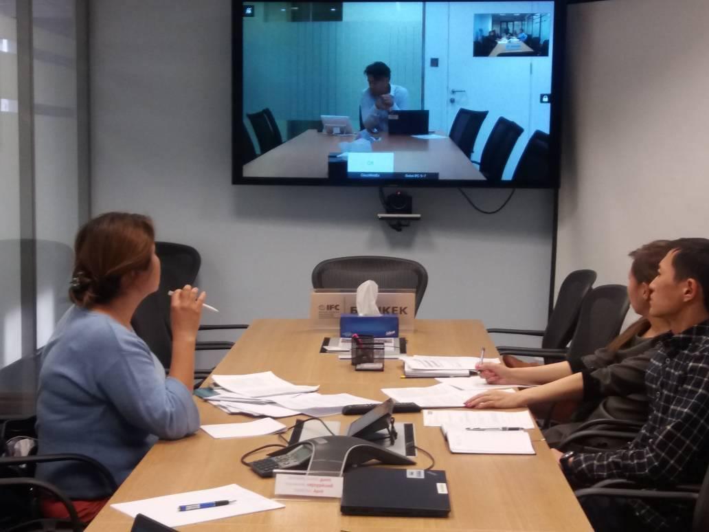 Представители офиса IFC и ЦЗРК обсудили вопросы дальнейшего сотрудничества