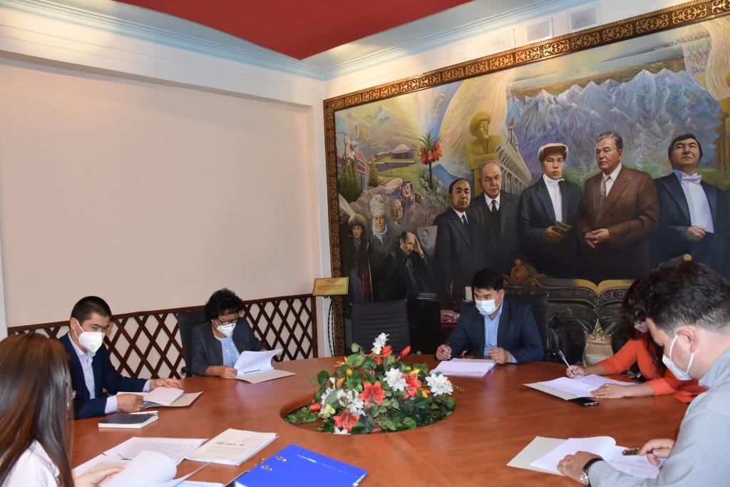 В Министерстве юстиции состоялось заседание Квалификационной комиссии по вопросам нотариальной деятельности