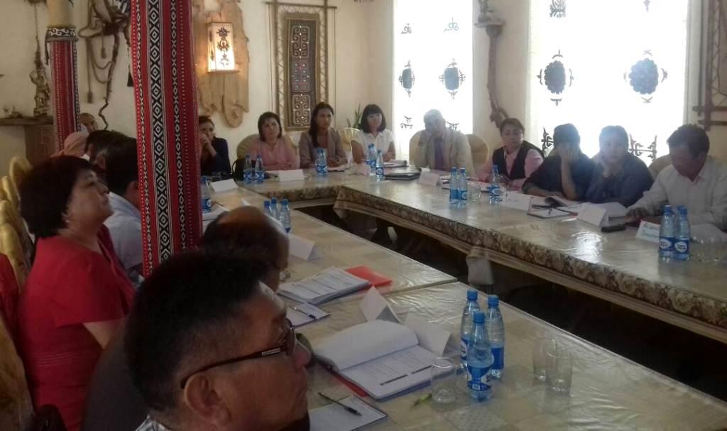 Управлением юстиции Таласской области проведен семинар-совещание по вопросу применения нормативных правовых актов местных кенешей
