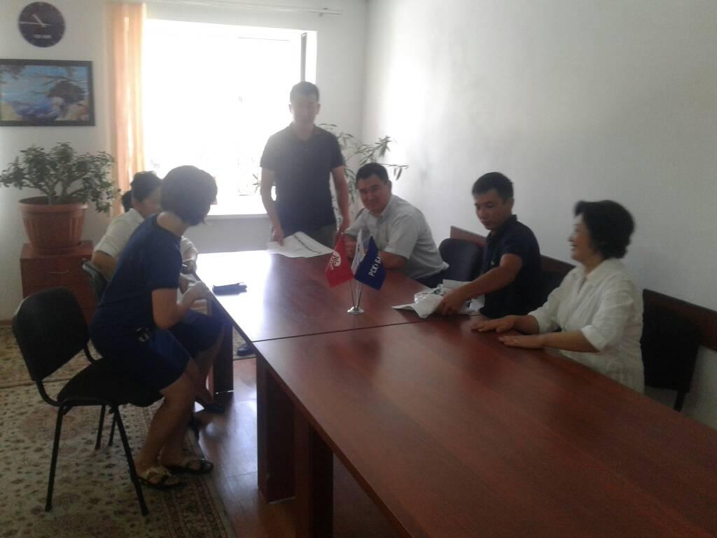 Для банковских работников Тогуз-Тороузского района Джалал-Абадской области проведен семинар