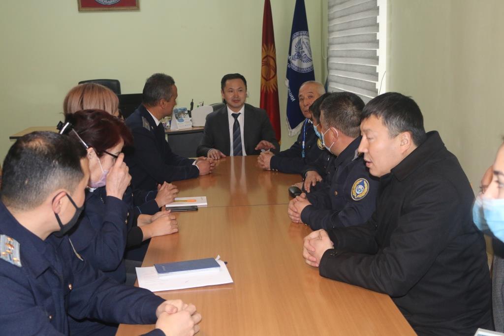 Назначен новый начальник Управления юстиции Джалал-Абадской области