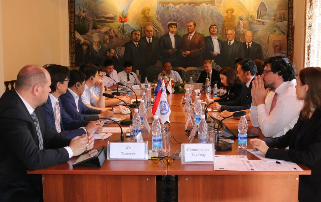 В Министерстве юстиции Кыргызской Республики состоялось седьмое заседание Наблюдательного комитета в рамках реализации Финансового соглашения между Кыргызской Республикой и Европейским союзом