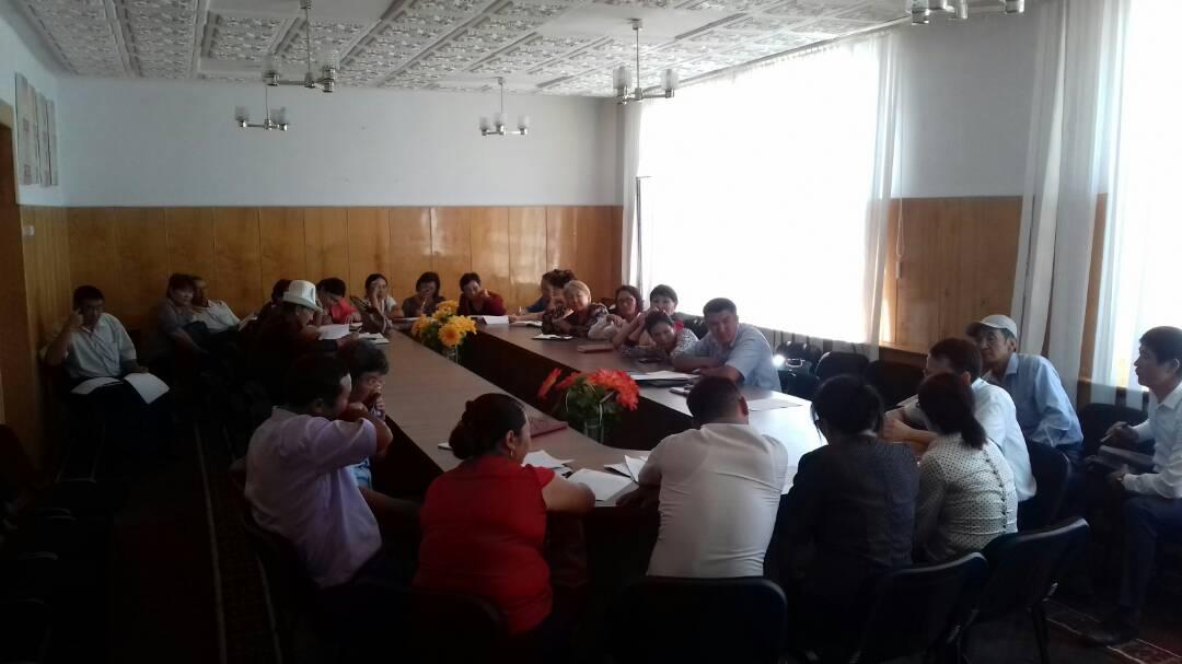 Сотрудниками Министерства юстиции проведен обучающий семинар для Управлений юстиции Иссык-Кульской и Нарынской областей, а также органов местного самоуправления