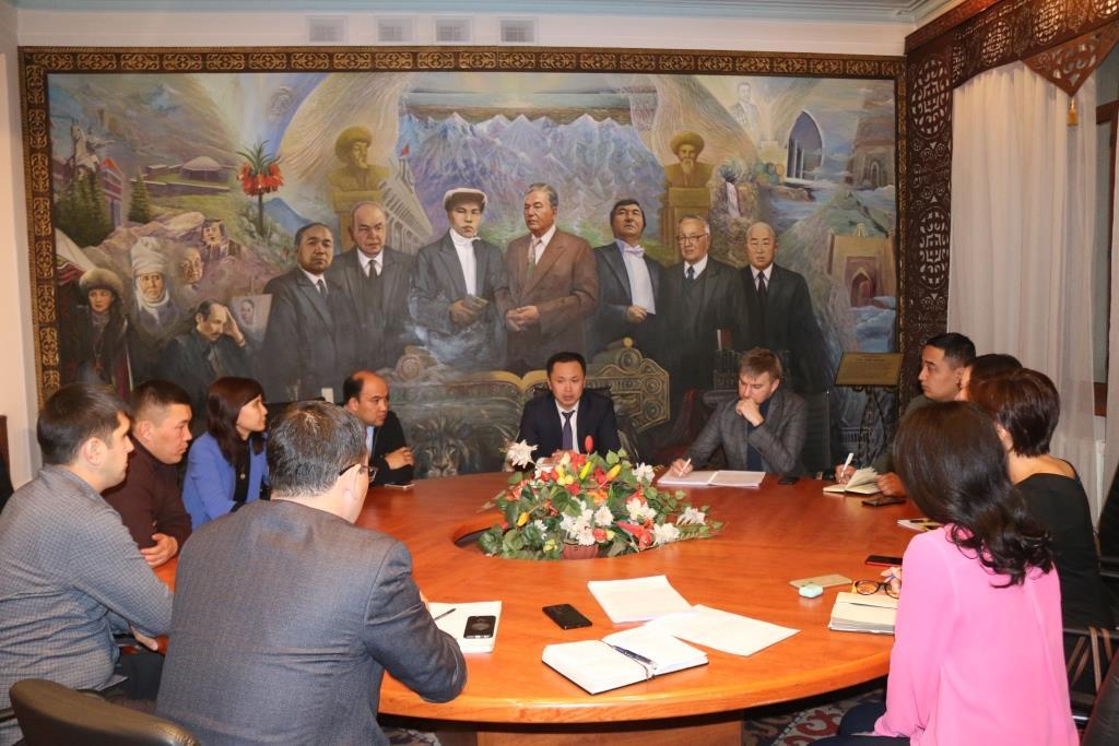Кыргыз Республикасынын Юстиция министрлигинин Коомдук кеңешинин жаңы бекитилген курамынын биринчи отуруму болуп өттү