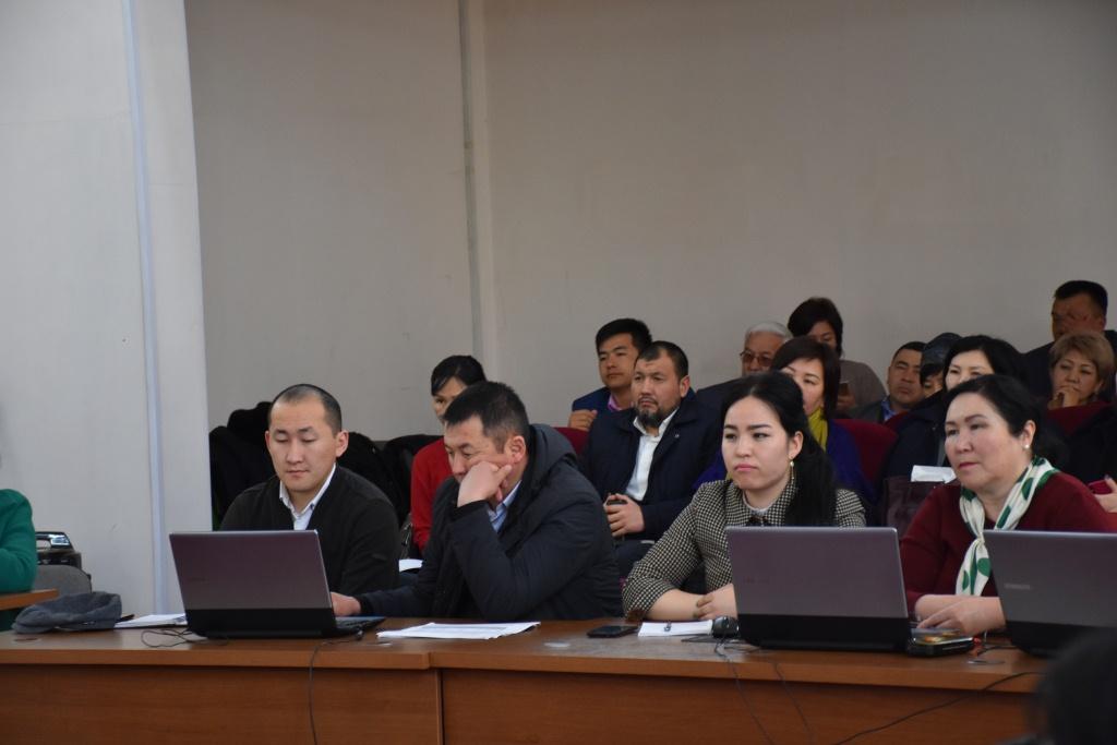 Министерством юстиции Кыргызской Республики продолжается обучение по использованию информационной системы «Электронный нотариат»