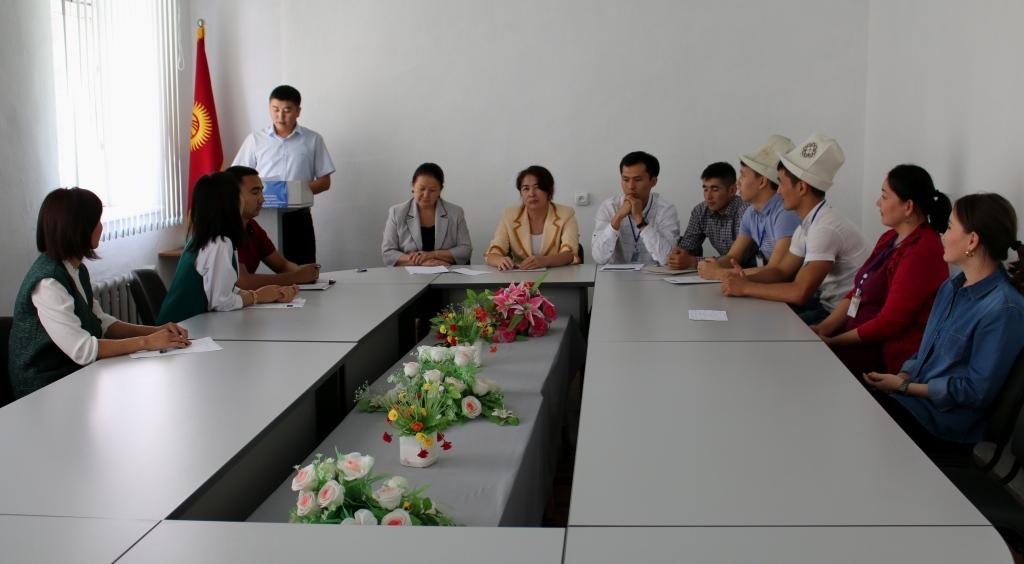 В Управлении юстиции Ошской области и города Ош проведено мероприятие ко Дню государственного языка Кыргызской Республики