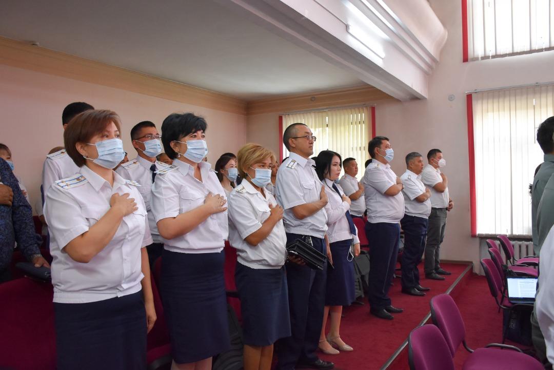 Состоялась вторая годовщина празднования Дня работника органа пробации Кыргызской Республики