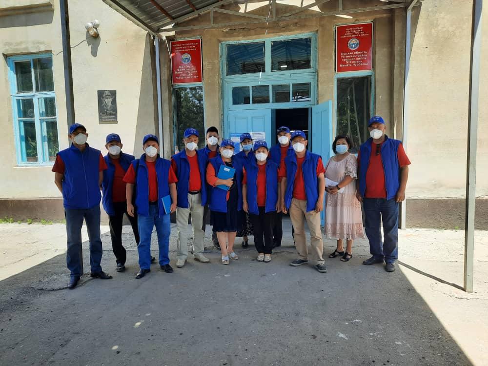 Ош облусунун ϴзгөн районунун жашоочуларына 49 акысыз укуктук консультациялар берилди