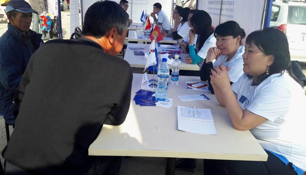 Юристы Министерства юстиции Кыргызской Республики начали оказывать бесплатные юридические консультации гражданам