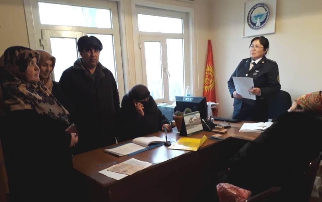 Государственные нотариусы Жалал-Абадской области работают над повышением уровня доверия населения к органам юстиции