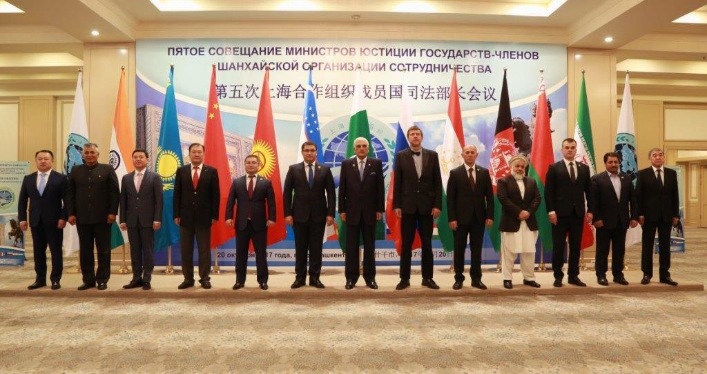 Министр юстиции Кыргызской Республики Уран Ахметов принял участие в пятом Совещании министров юстиции государств-членов Шанхайской Организации Сотрудничества