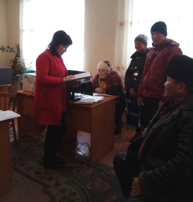 Государственный нотариус Джети-Огузского района Иссык-Кульской области организовала семинар для сотрудников финансово-кредитных учреждений