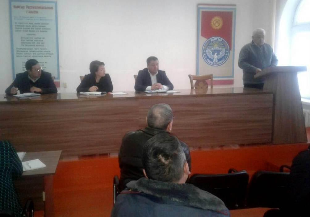 Государственный нотариус Кара-Бууринского района провел разъяснительную работу среди населения по апостилированию документов
