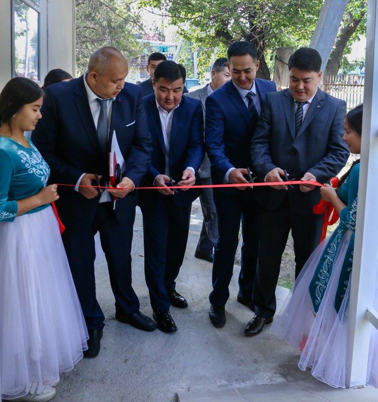 Состоялось открытие офиса органа пробации Аламудунского района после капитального ремонта