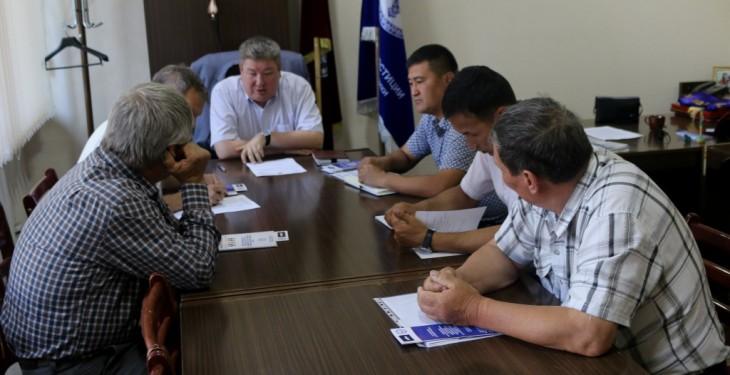 Управление юстиции Иссык-Кульской области организовало встречу с предпринимателями