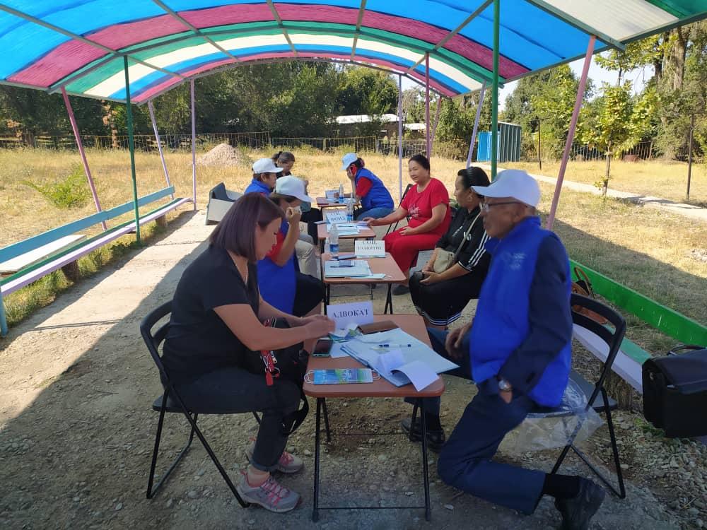 Предоставлено 34 бесплатных правовых консультаций жителям Жайылского района Чуйской области