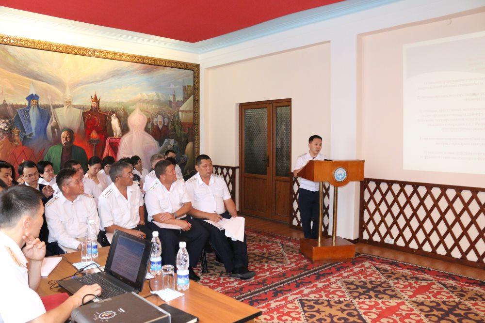 В Министерстве юстиции состоялась коллегия по итогам работы за 1 полугодие 2017 года