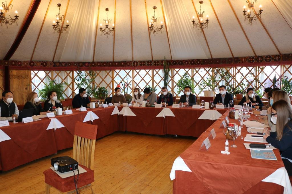 Состоялась очередная рабочая встреча Министерства юстиции с Общественным советом