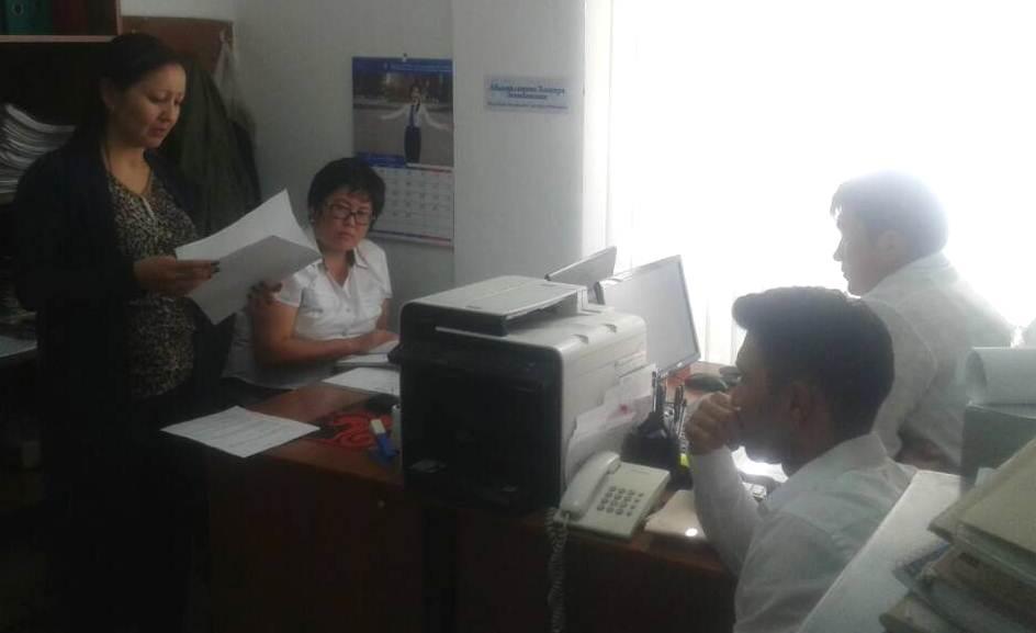 Государственные нотариусы Иссык-Кульской области продолжают работу по повышению Индекса доверия населения к органам юстиции
