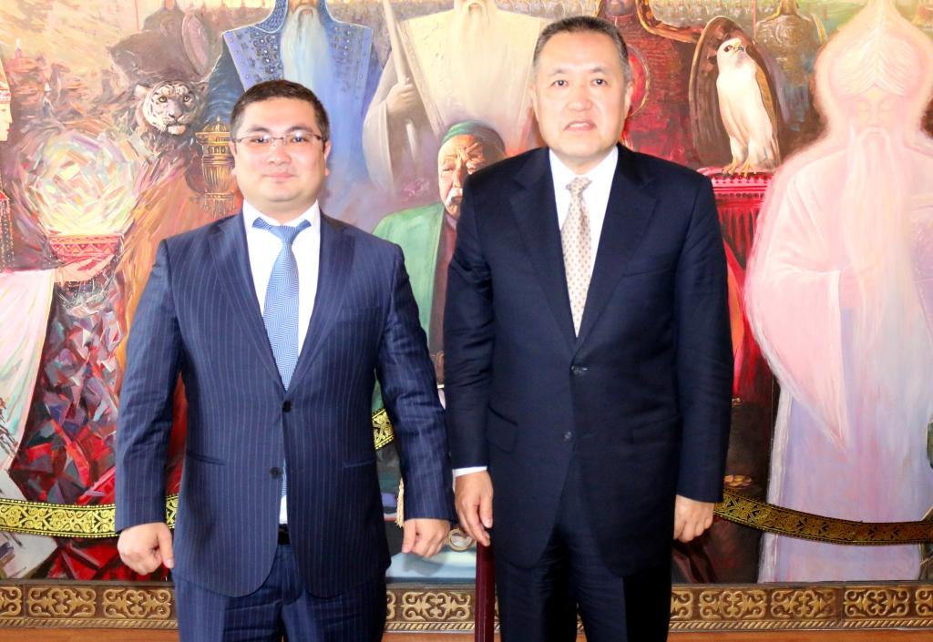 Министерство юстиции Кыргызской Республики посетила делегация Главного государственного управления торгово-промышленной администрации Китайской Народной Республики