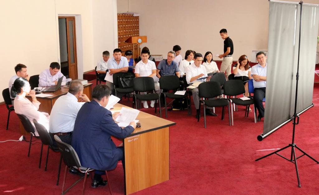 В Министерстве юстиции состоялось очередное заседание межведомственной рабочей группы по проведению анализа и выработки предложений по вопросам документов государственного значения