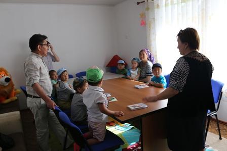 """Управление юстиции Таласской области провели мероприятие в рамках месячника """"Наши дети-наше будущее """""""