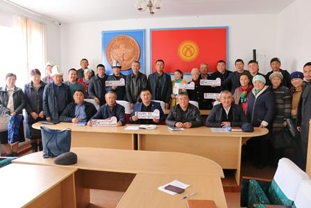 В Иссык-Кульской области началась акция «Я живу по конституции»