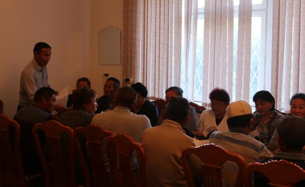 Управление юстиции Иссык-Кульской области проводит встречи с местным населением области